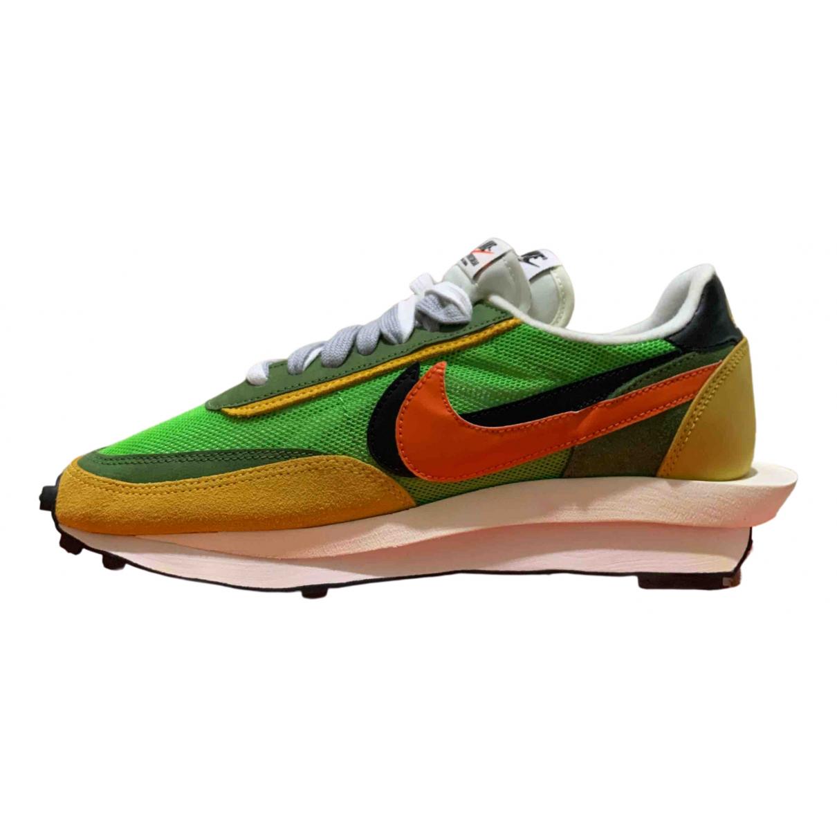 Nike X Sacai - Baskets LDV Waffle pour homme - vert