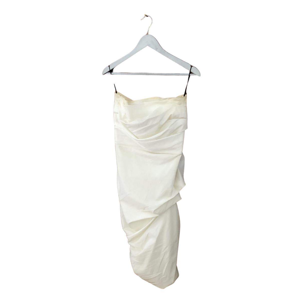La Petit S***** - Robe   pour femme - blanc