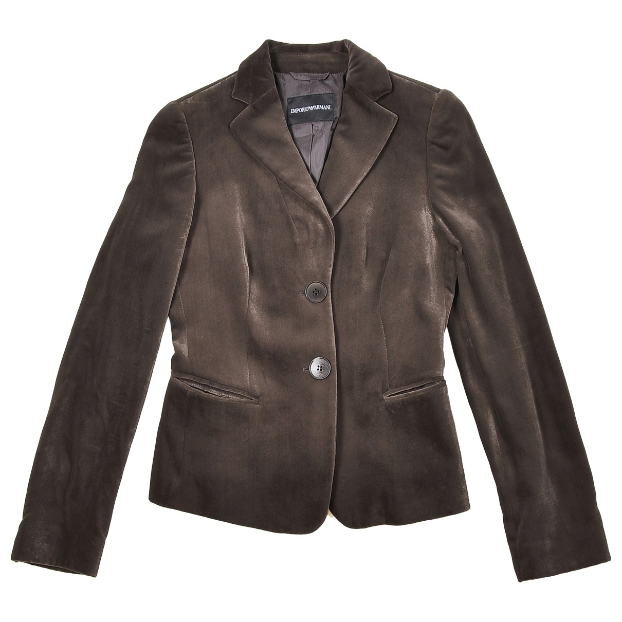 Emporio Armani \N Brown jacket for Women 40 IT