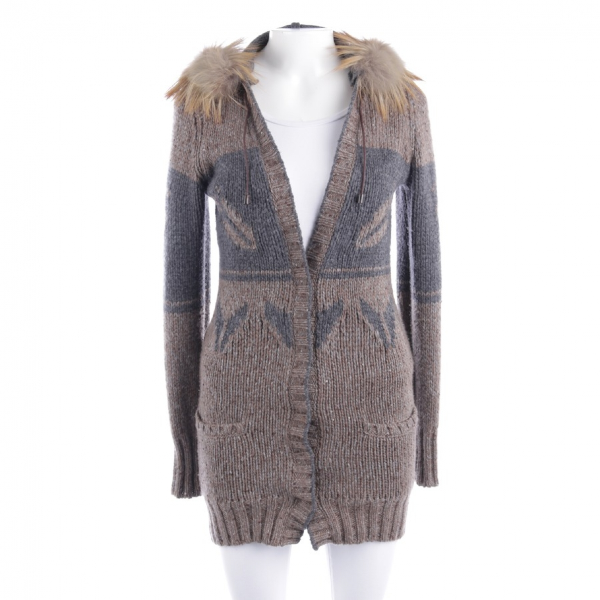 Brunello Cucinelli \N Grey Cashmere Knitwear for Women 36 FR