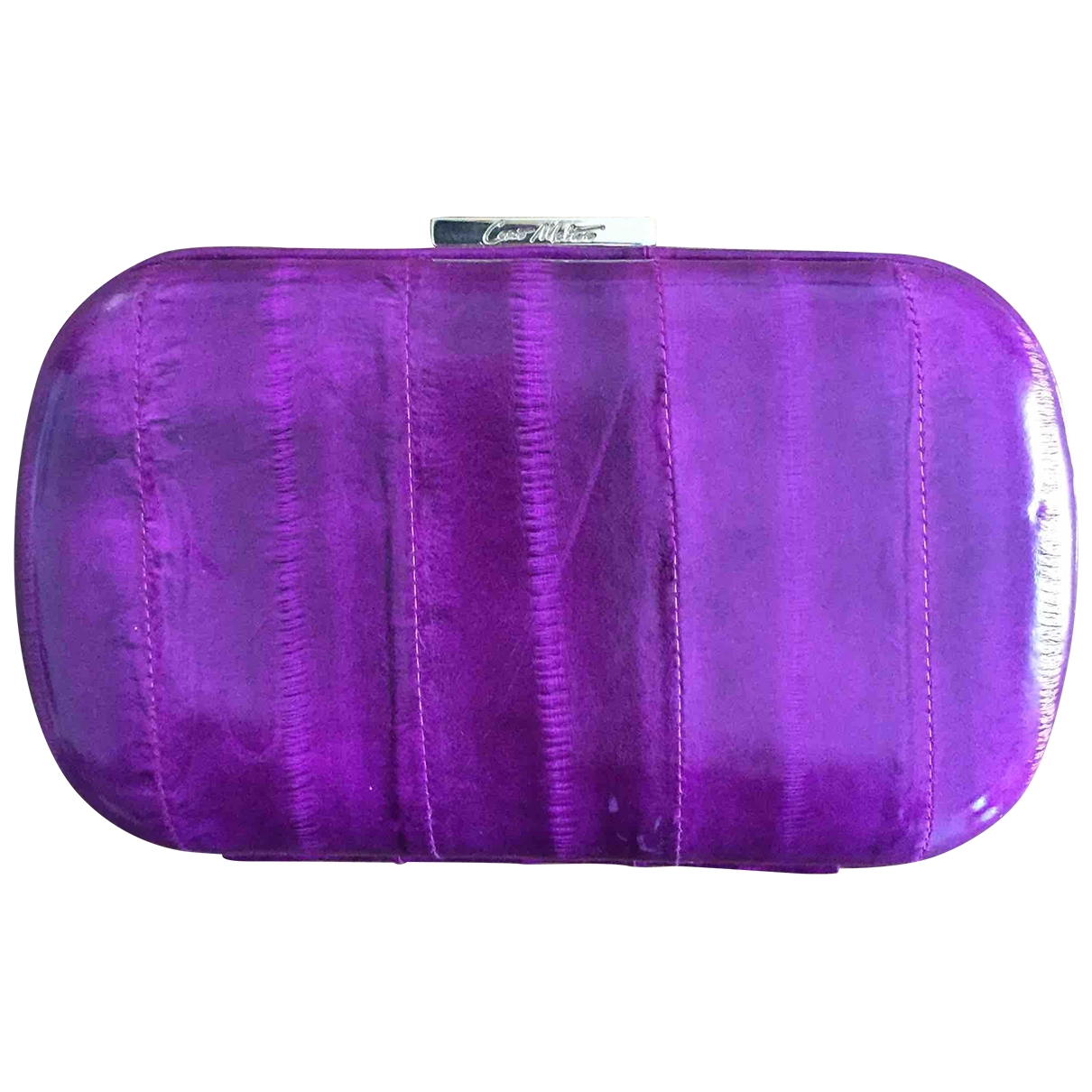 Corto Moltedo - Pochette   pour femme en cuir - violet