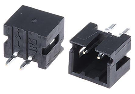 Hirose , DF3, 2 Way, 1 Row, Straight PCB Header (10)