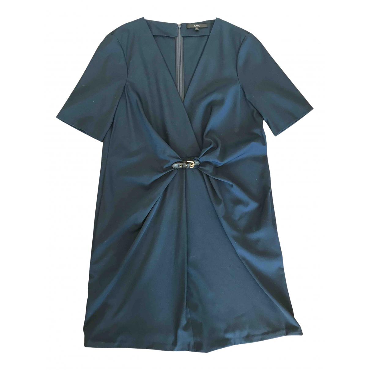 Gucci \N Kleid in  Blau Wolle