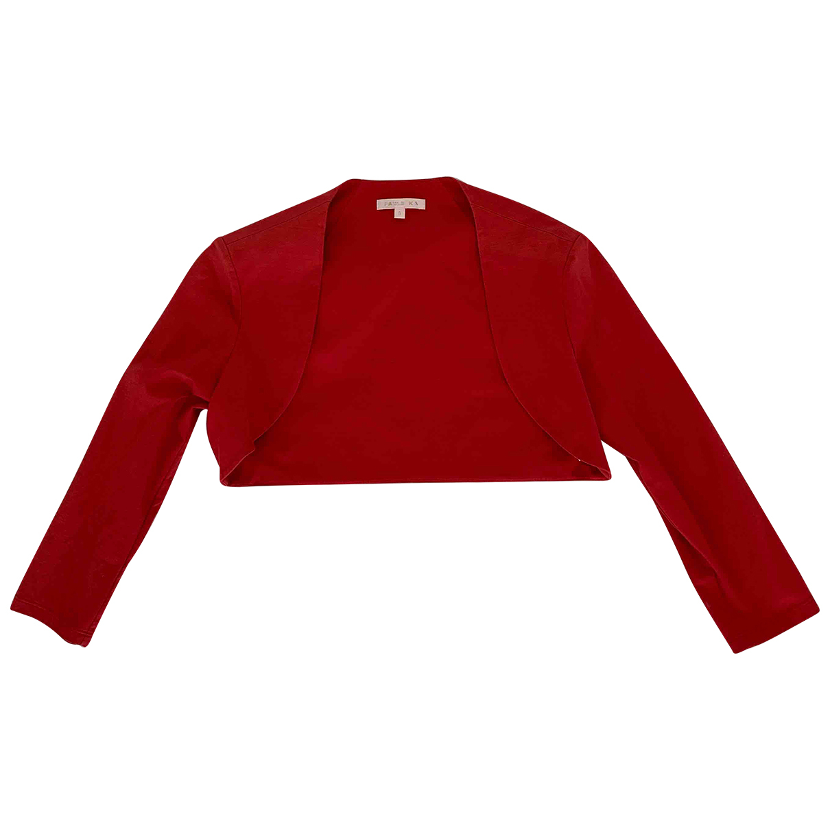 Paule Ka \N Red Cotton jacket for Women S International