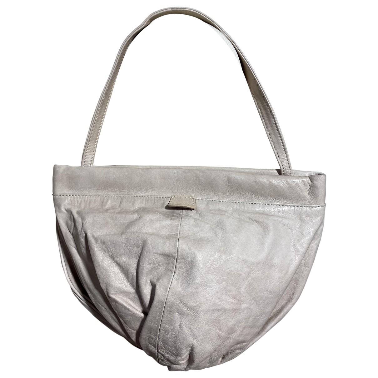 Jean Paul Gaultier \N Beige Leather handbag for Women \N