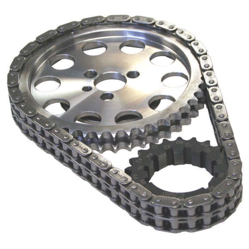 Double Roller Timing Chain Set; Chevy 9-Keyway Howards Cams 94303 94303