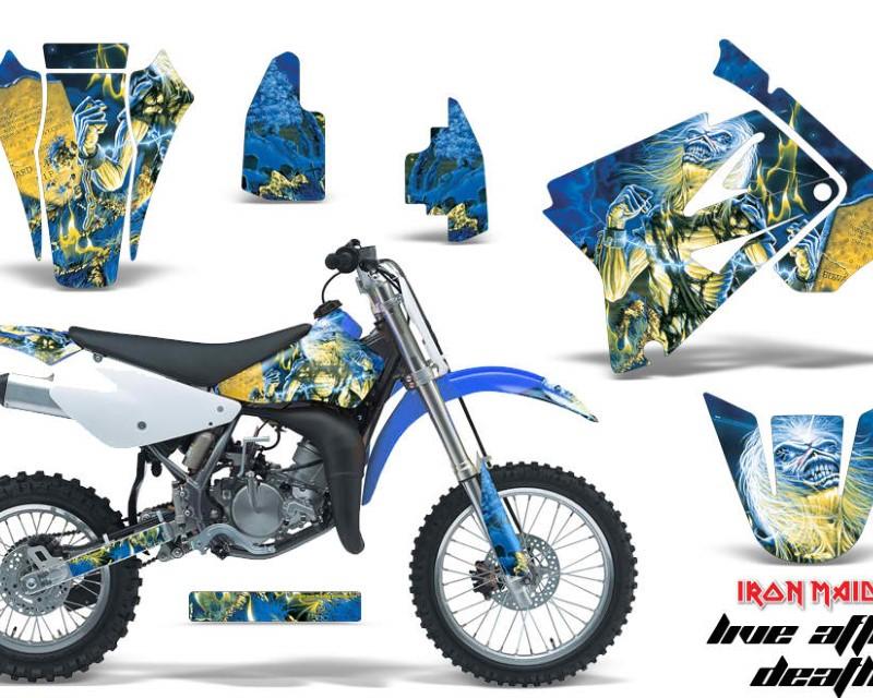 AMR Racing Dirt Bike Graphics Kit Decal Sticker Wrap For Suzuki RM85 2002-2016?IM LAD