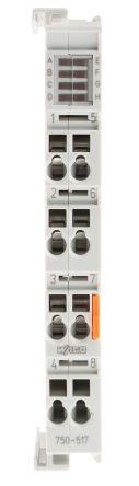 Wago 750 PLC I/O Module - 2 Outputs, 1 A @ 250 V ac, 1 A @ 40 V dc Output Current
