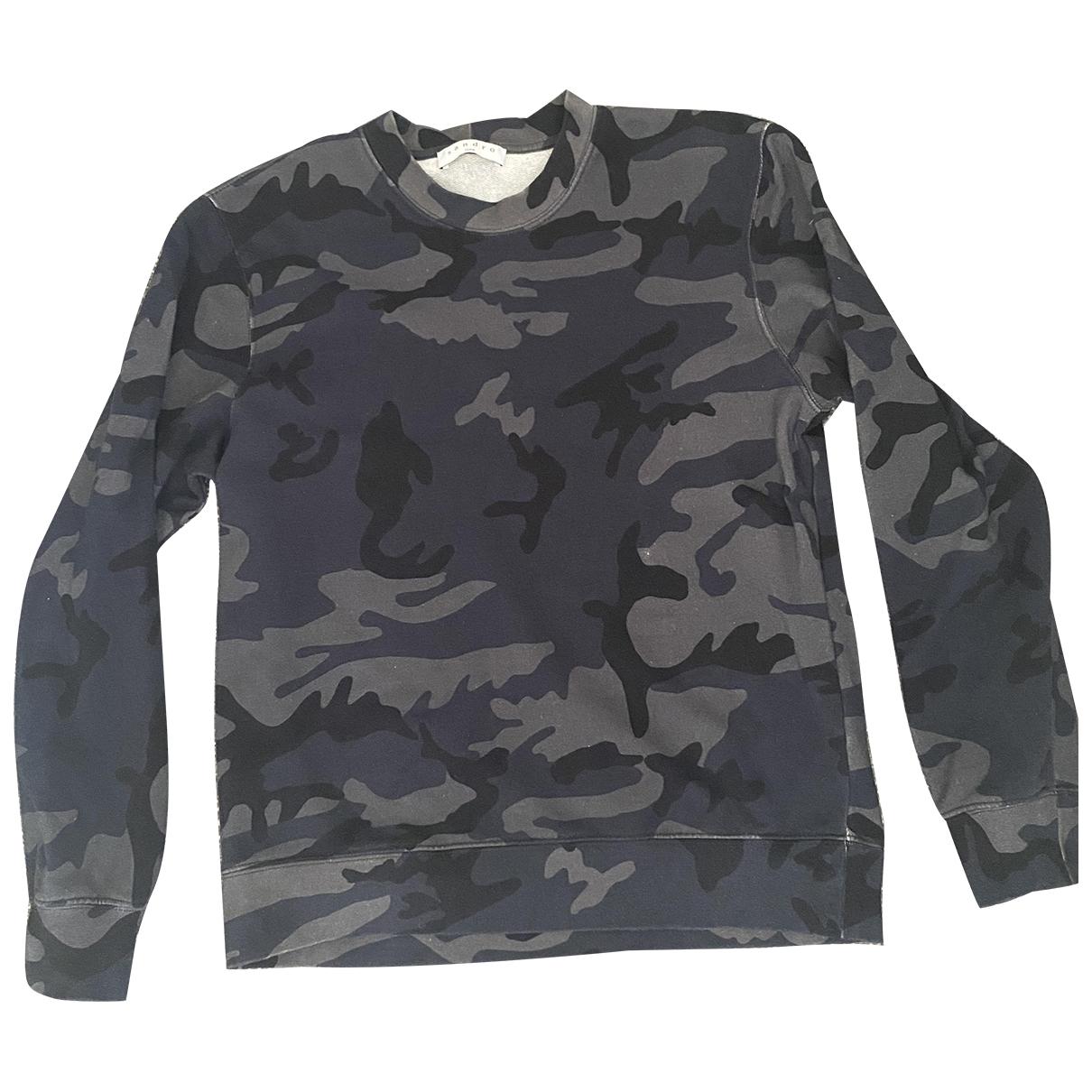 Sandro \N Pullover in  Blau Baumwolle