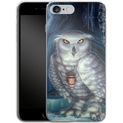 Apple iPhone 6s Plus Silikon Handyhuelle - Ed Beard Jr - Wizard Messenger Owl von TATE and CO