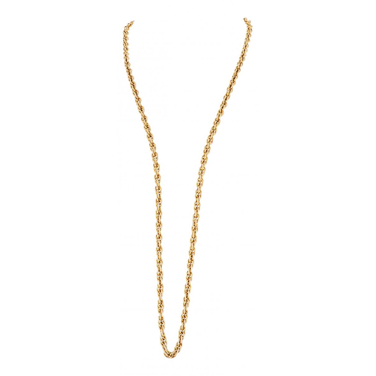 Chanel - Collier   pour femme en or jaune - dore