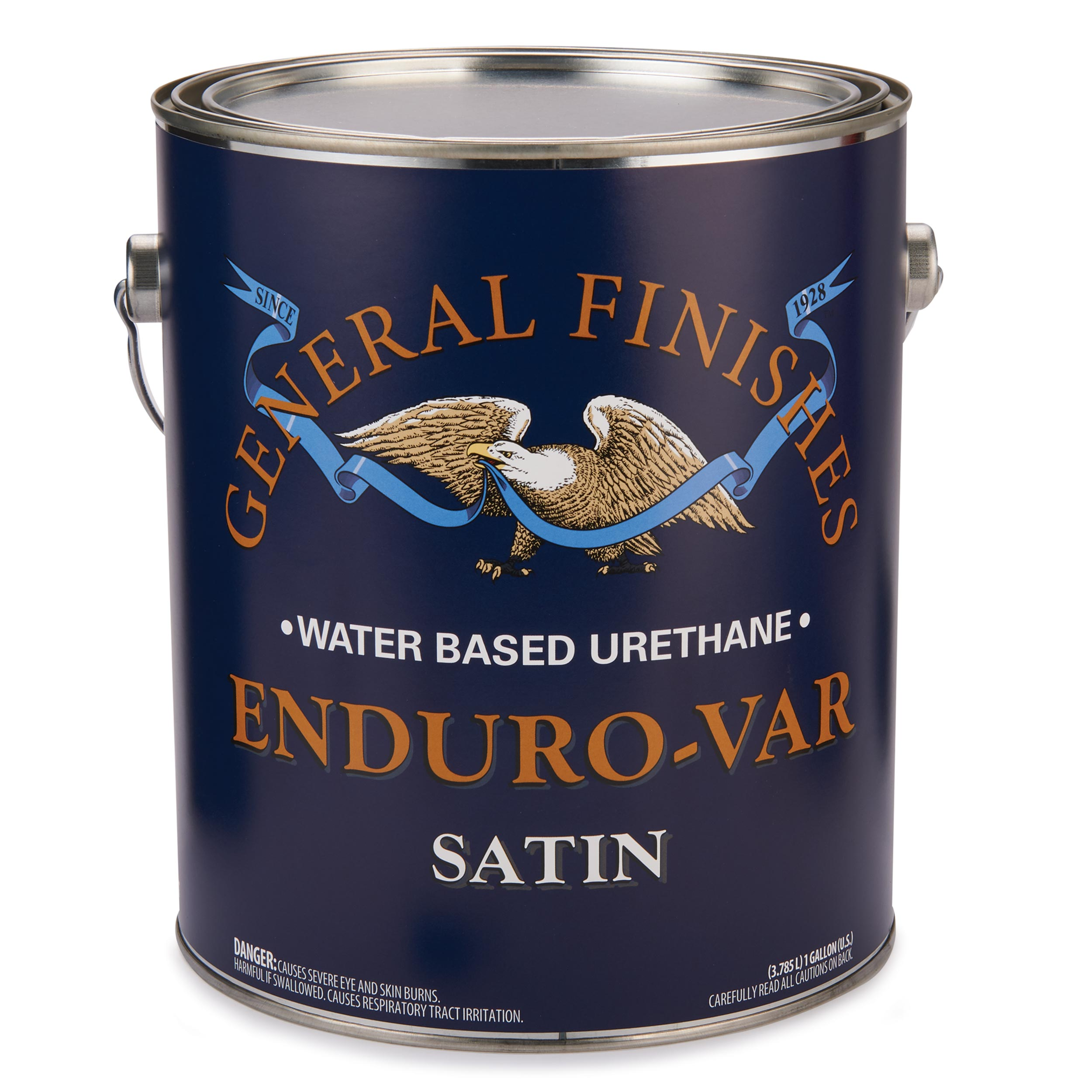 Satin Enduro-Var Varnish Water Based Gallon