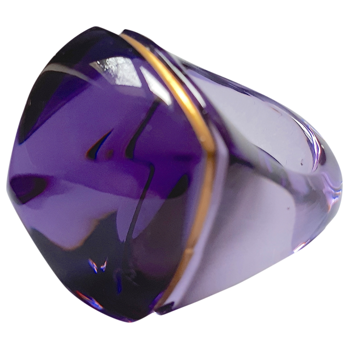 Baccarat \N Ring in  Lila Kristall