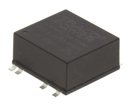 TRACOPOWER THL 6WISM 6W Isolated DC-DC Converter Surface Mount, Voltage in 9 → 36 V dc, Voltage out 5V dc