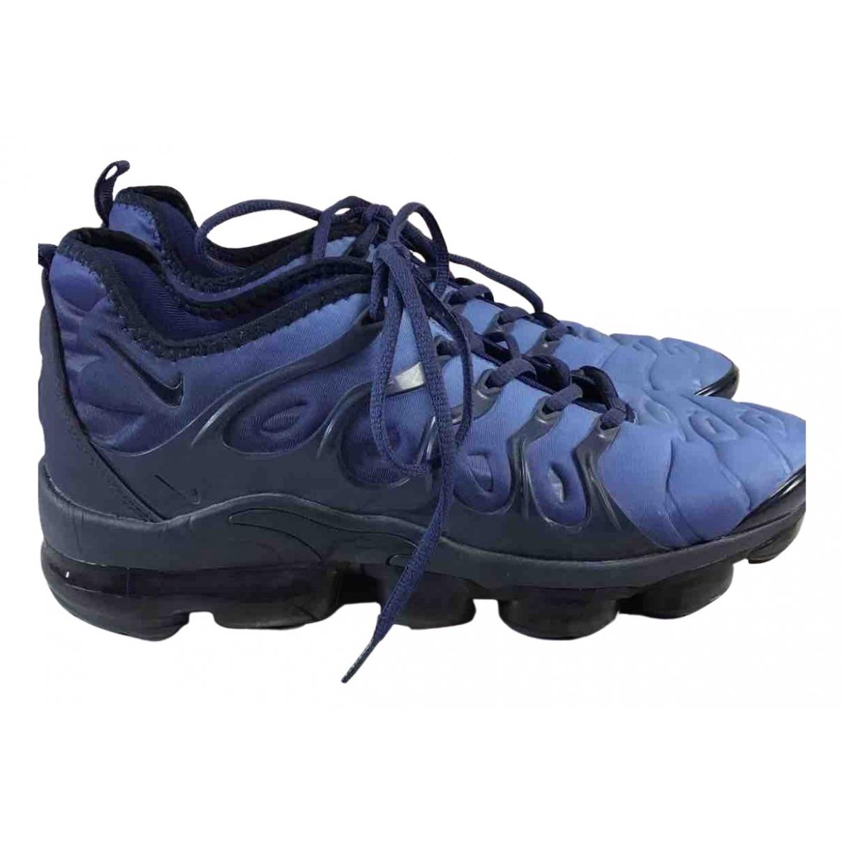 Nike VaporMax Plus Sneakers in  Blau Leinen