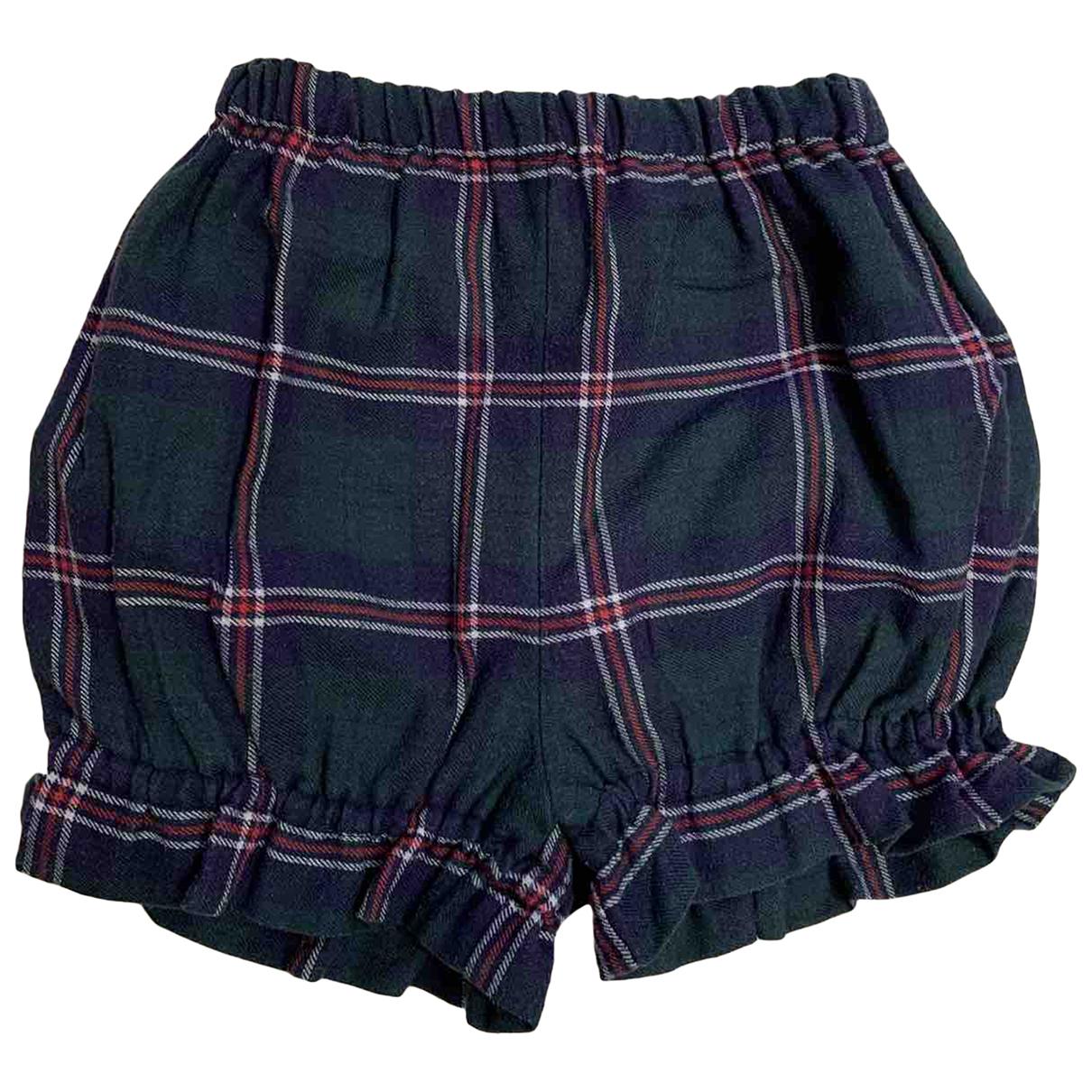 Non Signe / Unsigned \N Shorts in  Gruen Baumwolle