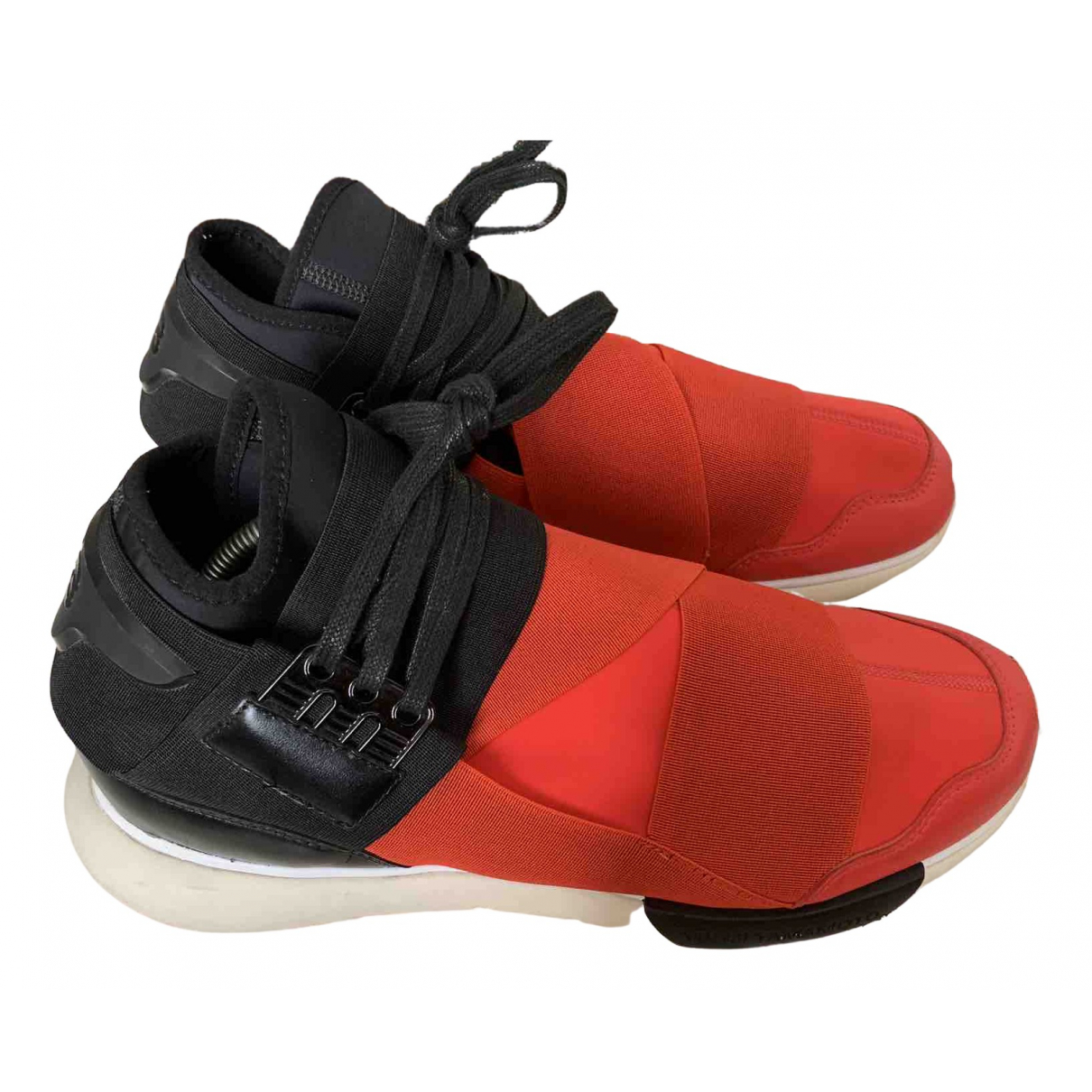 Y-3 \N Red Trainers for Men 44.5 IT