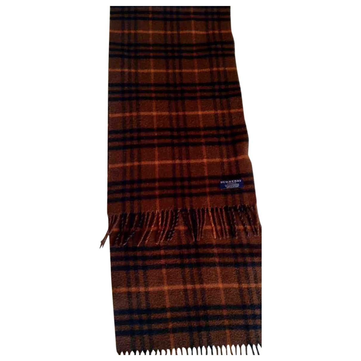 Pañuelo / bufanda de Cachemira Burberry