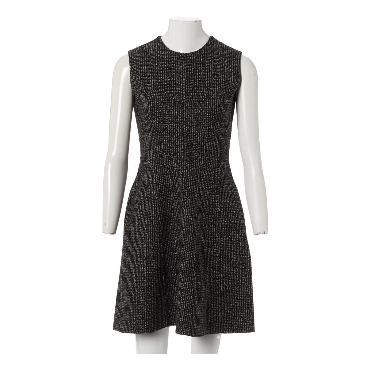Christian Dior \N Kleid in  Grau Wolle