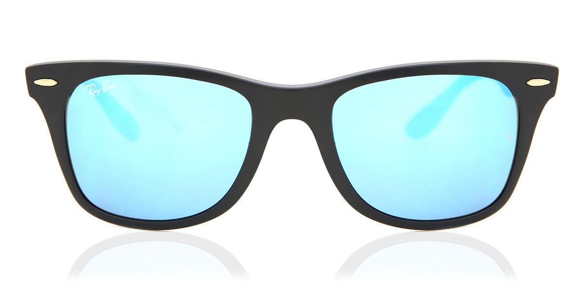 Ray-Ban RB4195 Wayfarer Liteforce 631855 Mens Sunglasses Black Size 52