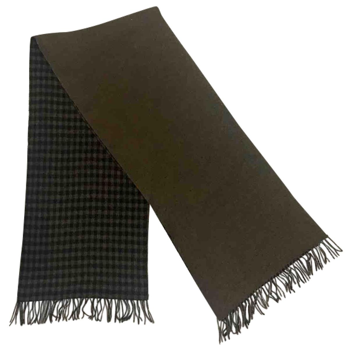 Issey Miyake \N Brown Wool scarf for Women \N