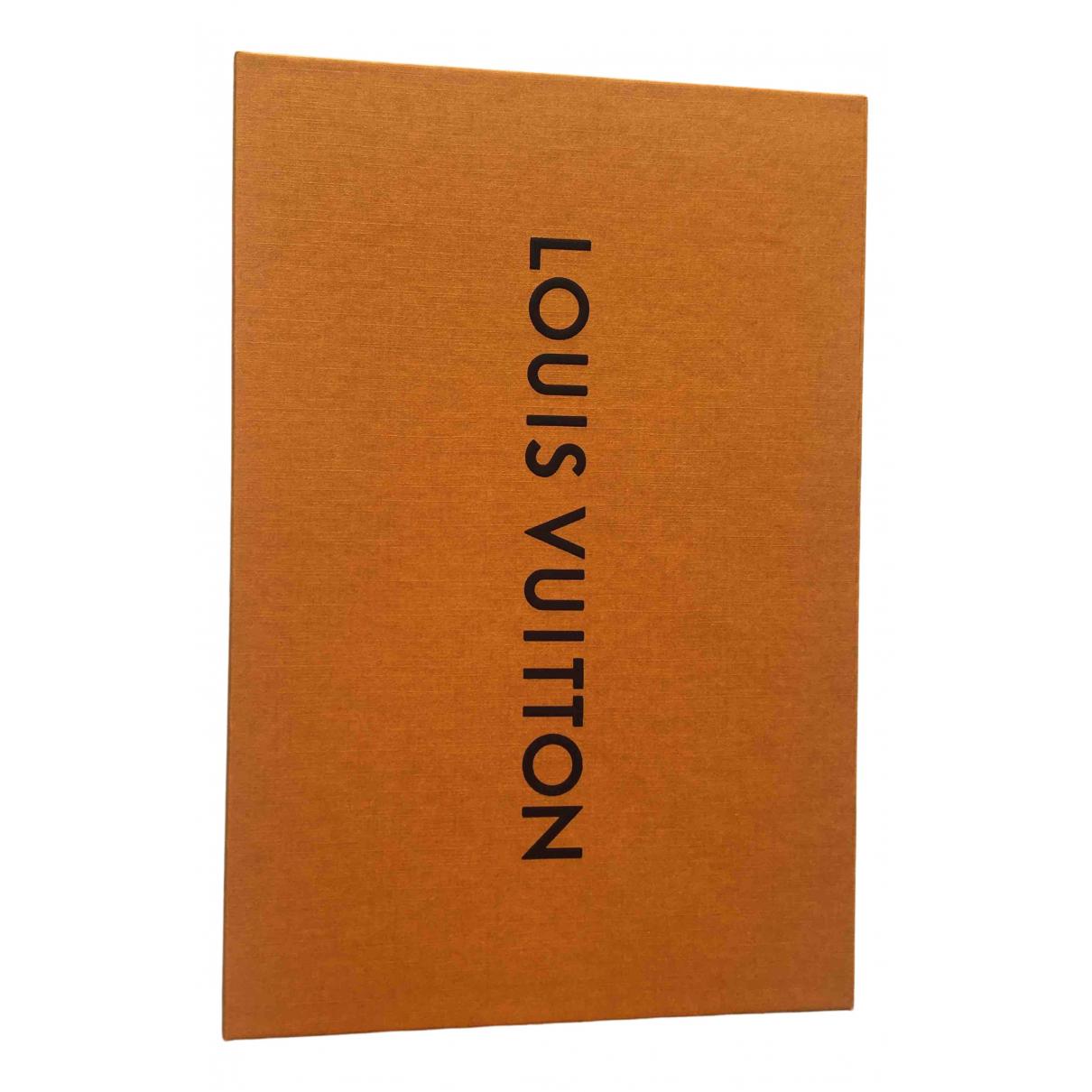 Louis Vuitton N Orange Cotton Home decor for Life & Living N