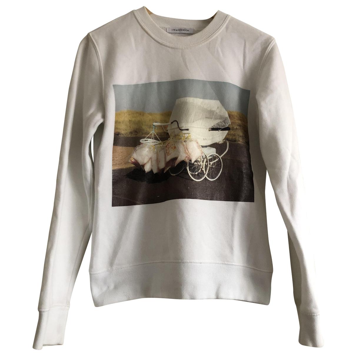 J.w. Anderson \N White Cotton Knitwear for Women 36 FR