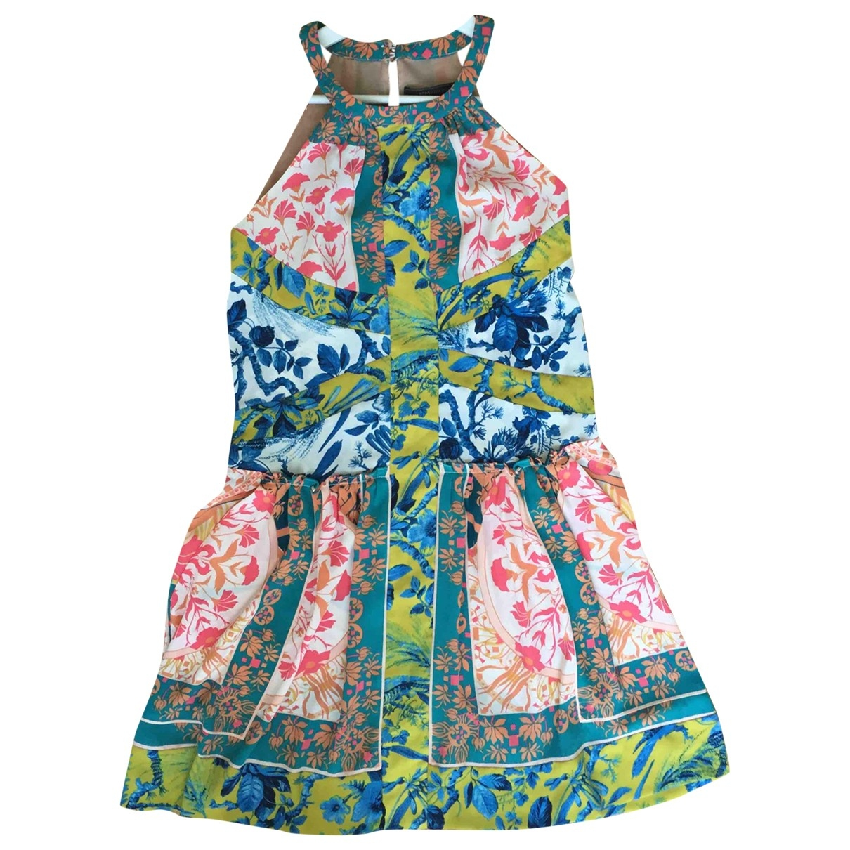 Bcbg Max Azria \N Kleid in  Bunt Viskose