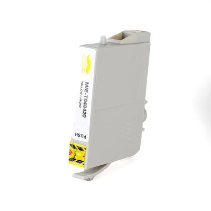 Epson 48 T048420 cartouche d'encre compatible jaune - Moustache®