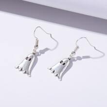 Ghost Charm Drop Earrings