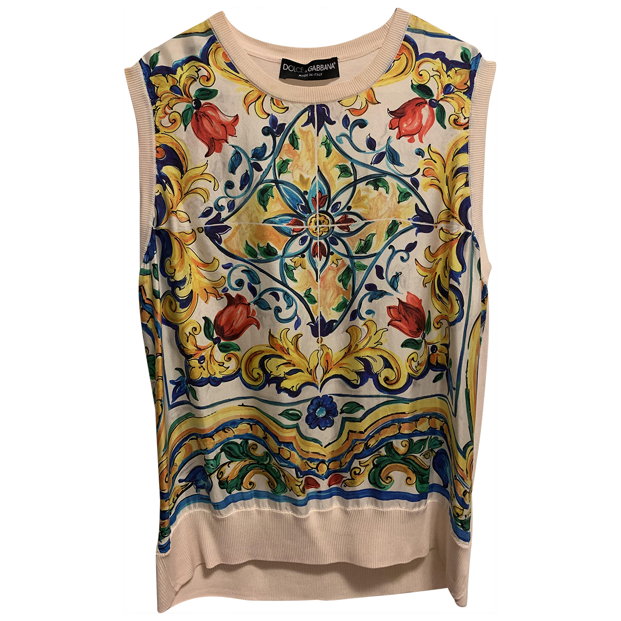 Dolce & Gabbana \N Pink Silk  top for Women 42 IT