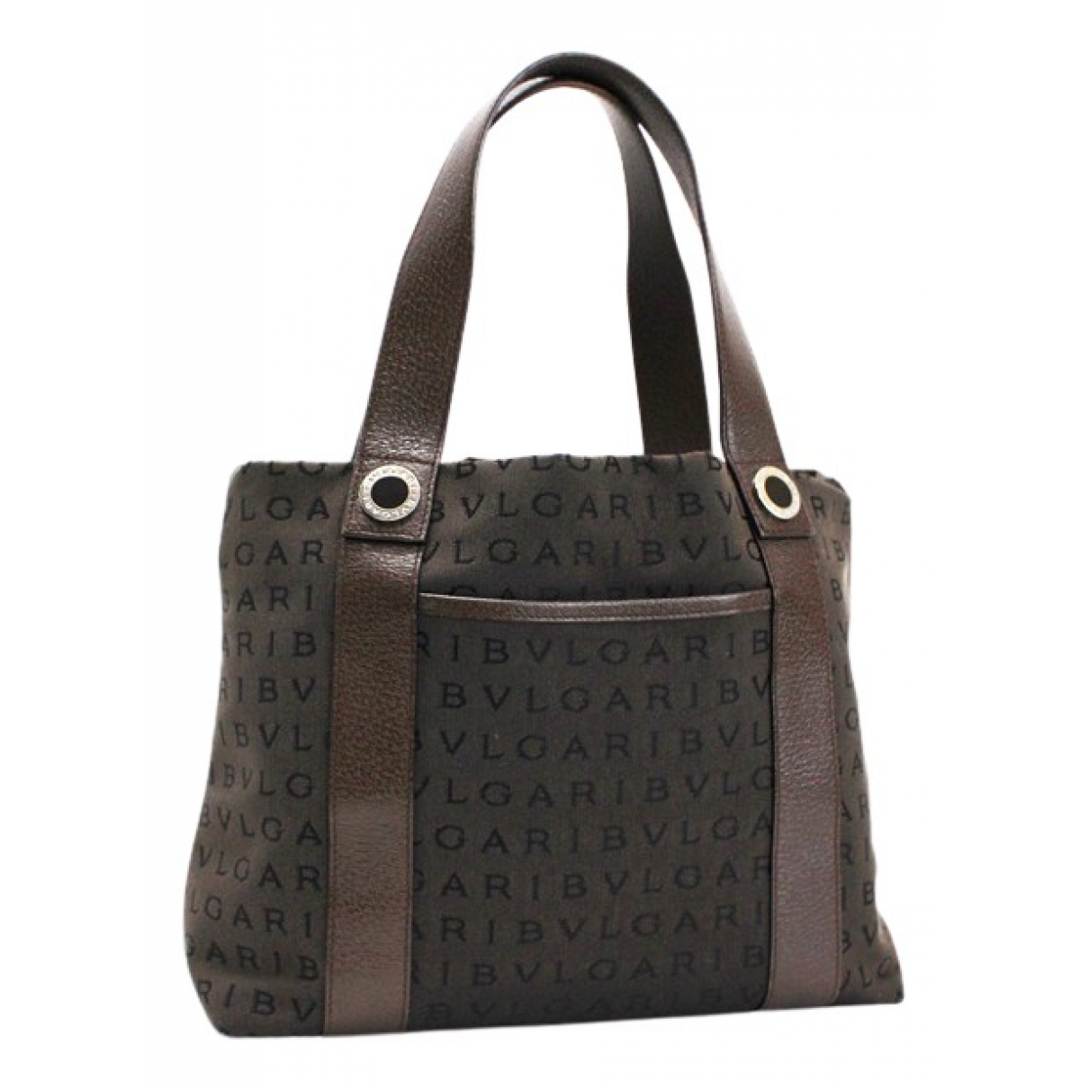 Bvlgari \N Brown Cloth handbag for Women \N