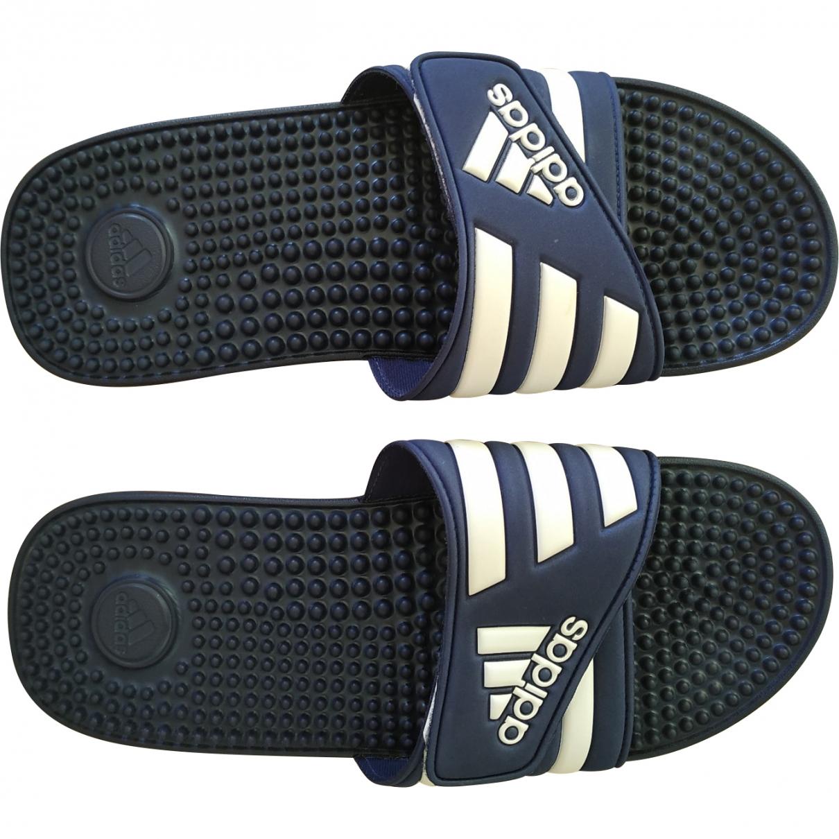 Adidas \N Blue Rubber Sandals for Men 46 EU