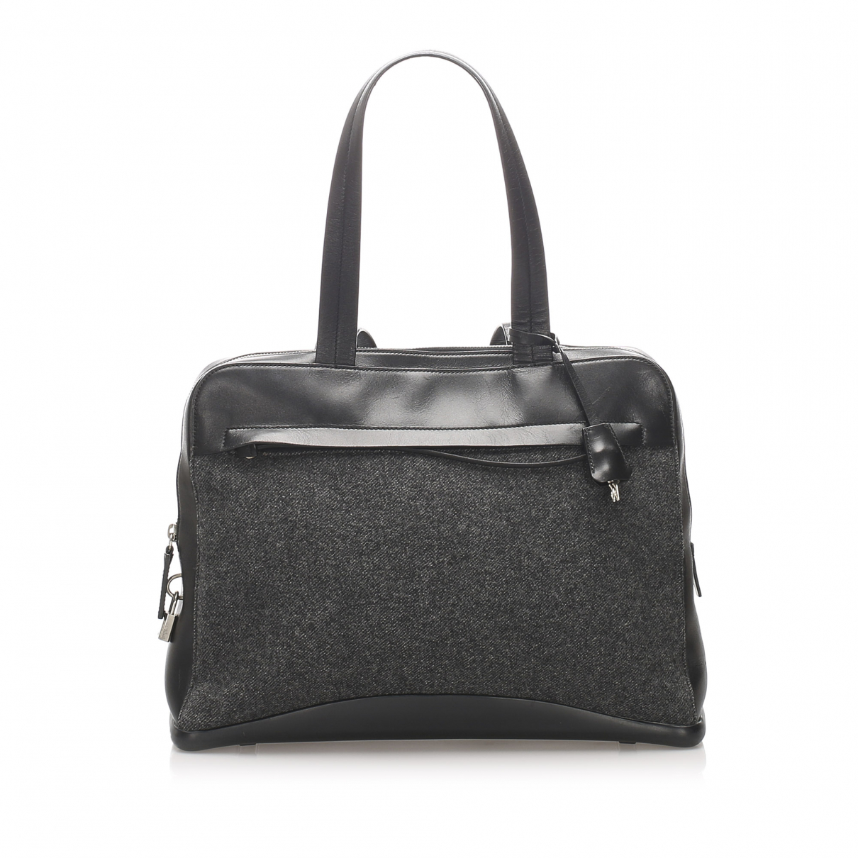 Prada N Grey Cloth handbag for Women N