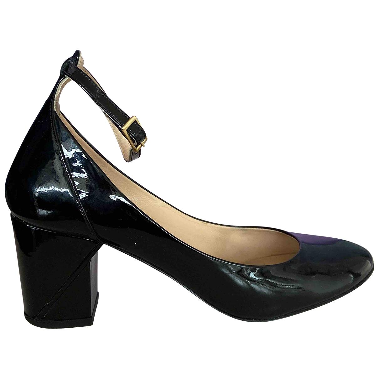 Comptoir Des Cotonniers - Escarpins   pour femme en cuir verni - noir
