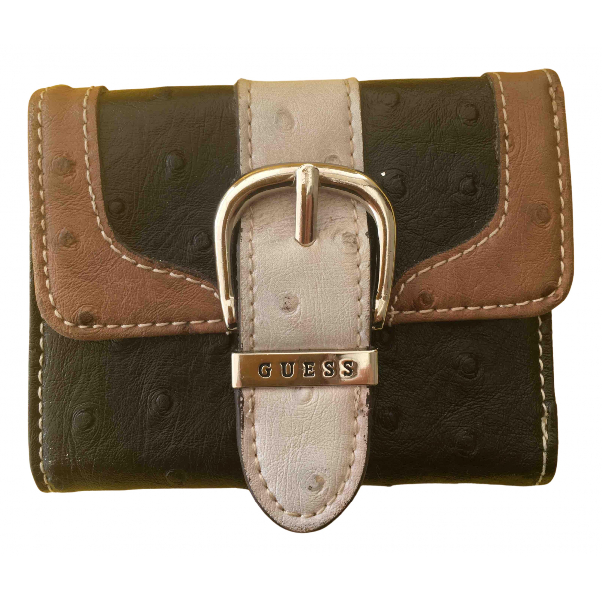 Guess N Black Leather wallet for Women N