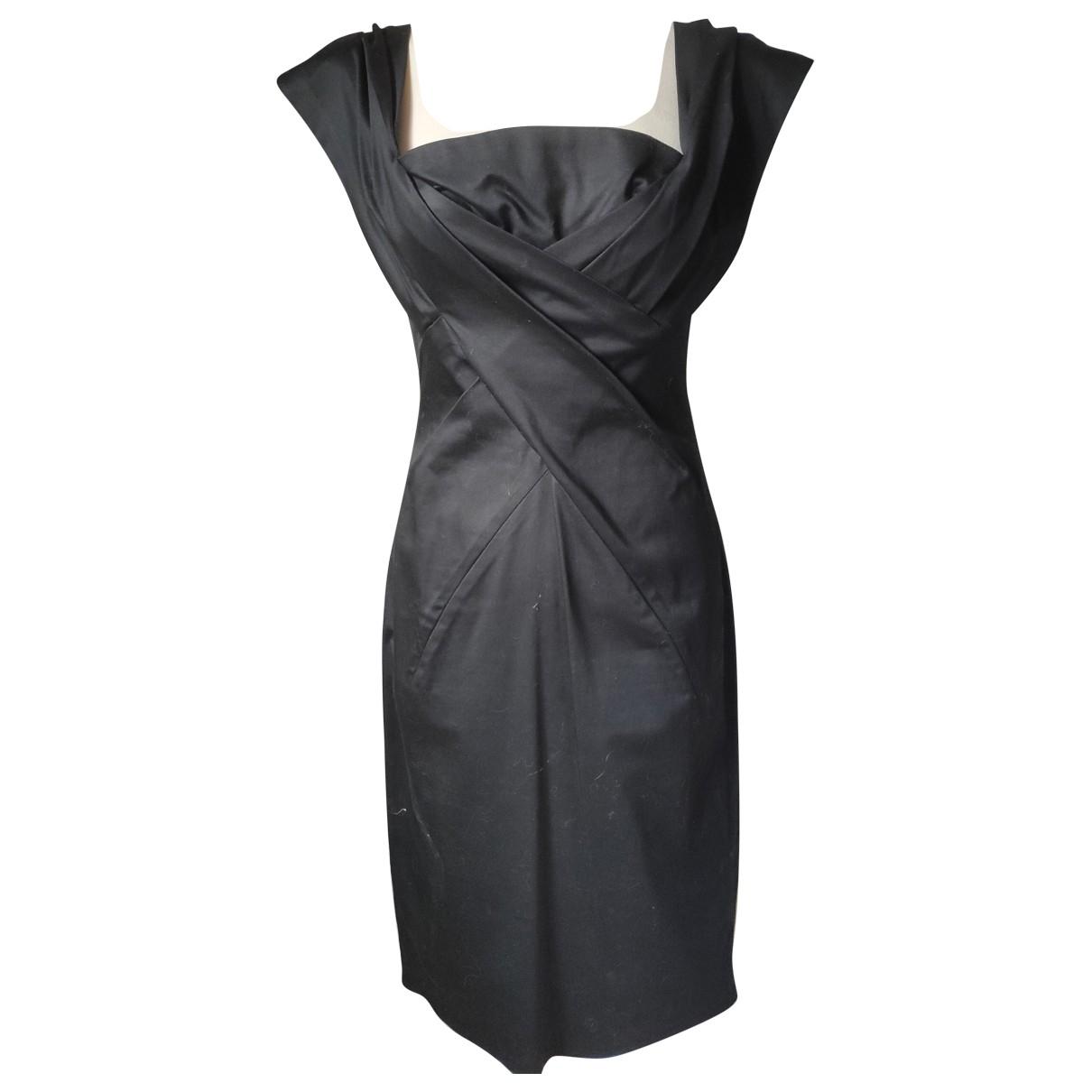 - Robe   pour femme en coton - noir