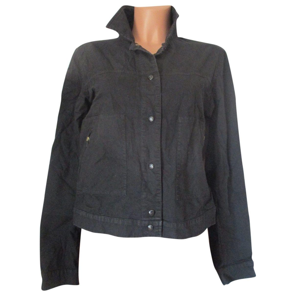 Fendi \N Black Cotton jacket for Women 42 IT