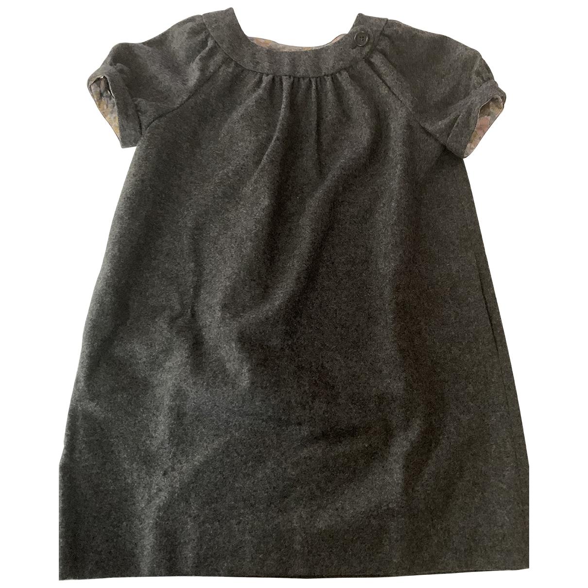 Bonpoint - Robe    pour enfant en laine - anthracite