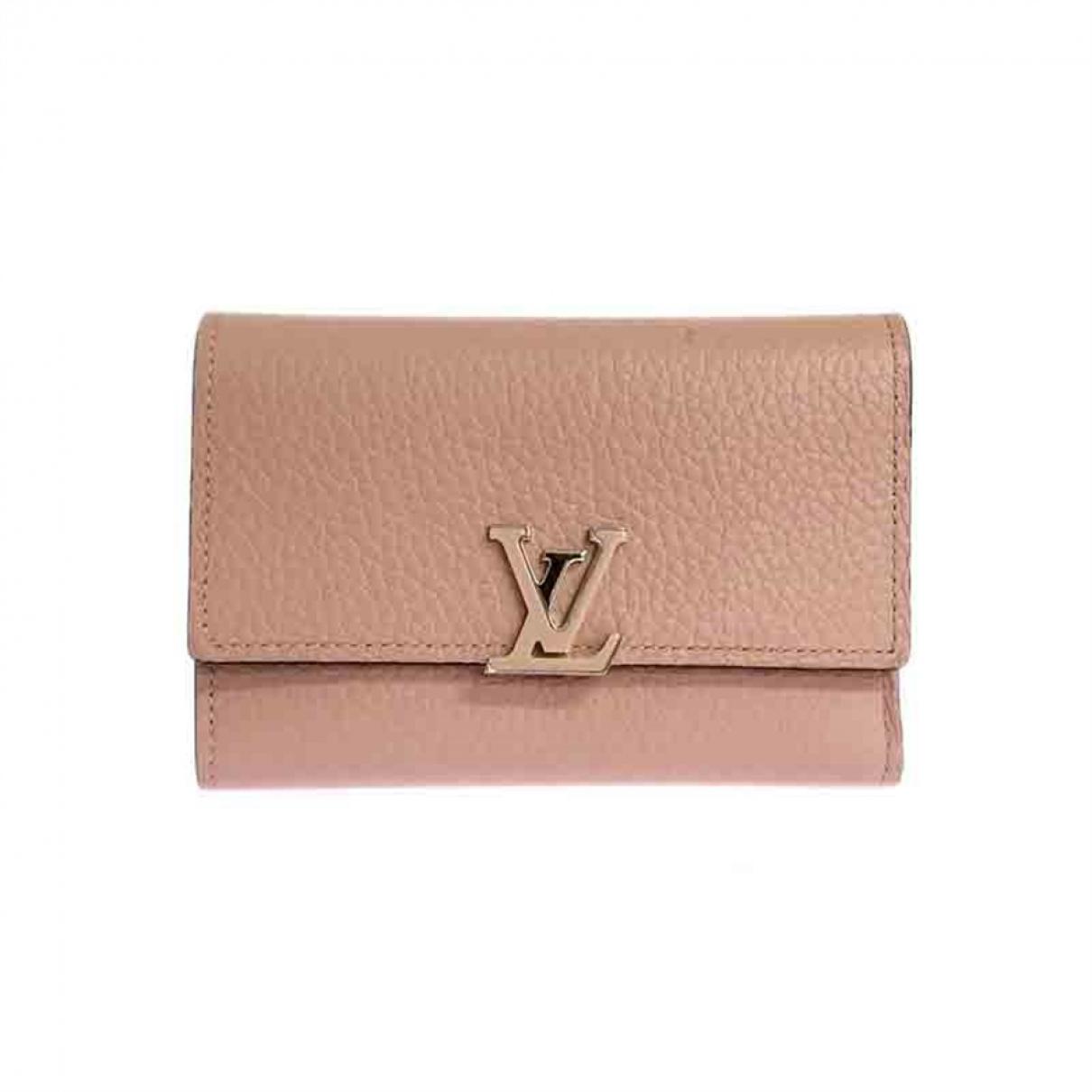 Cartera Capucines de Cuero Louis Vuitton