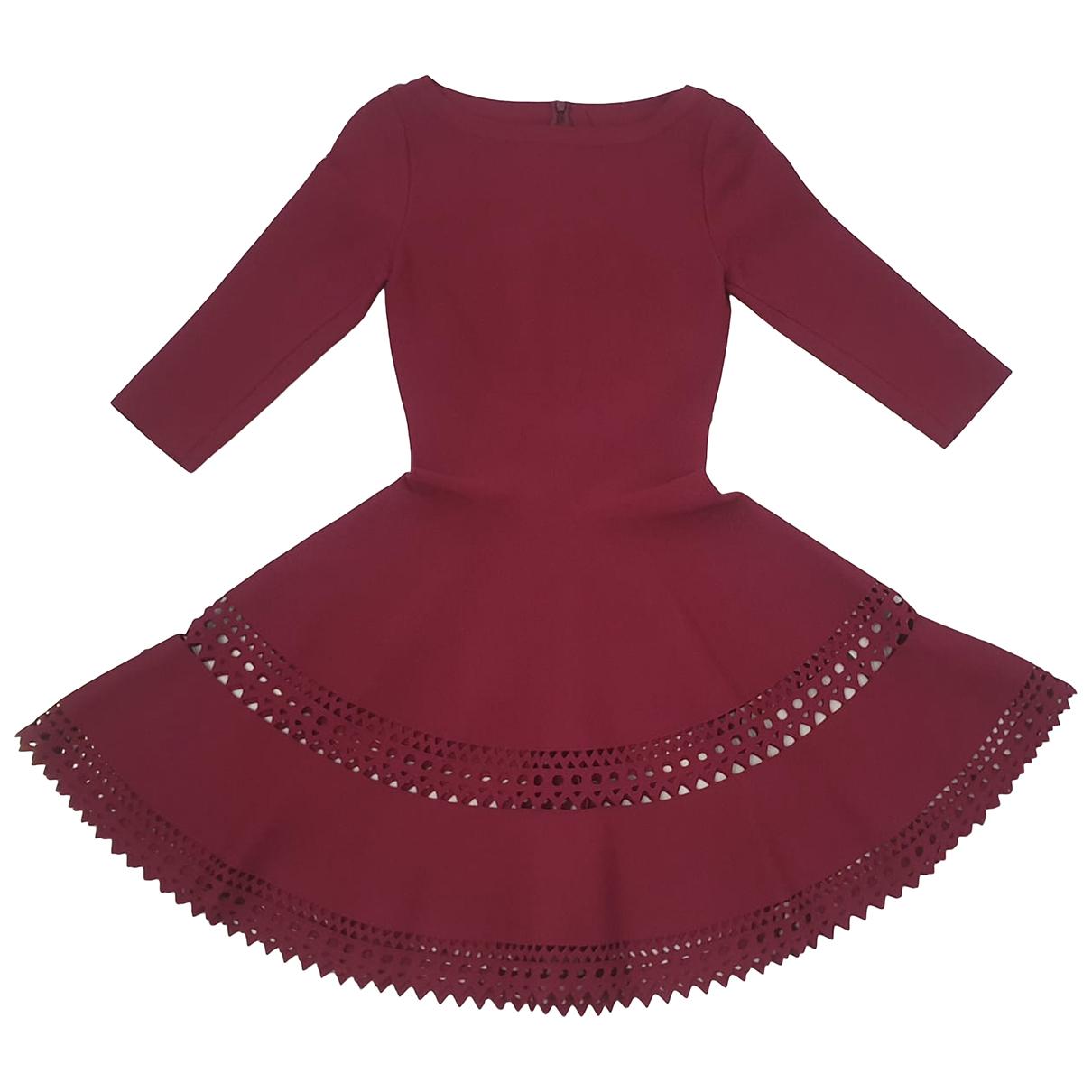 Alaia \N Kleid in  Lila Viskose