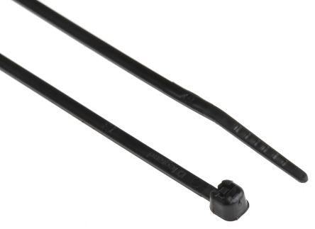 Legrand , Colring Series Black Nylon Cable Tie, 140mm x 2.4 mm (100)