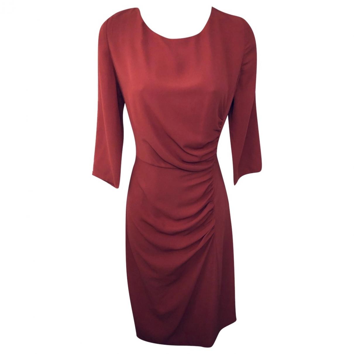 Farhi By Nicole Farhi \N Kleid in  Orange Polyester