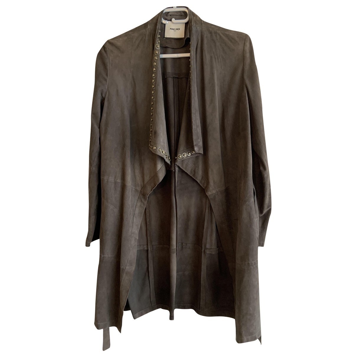 Max & Moi \N Brown Leather jacket for Women S International
