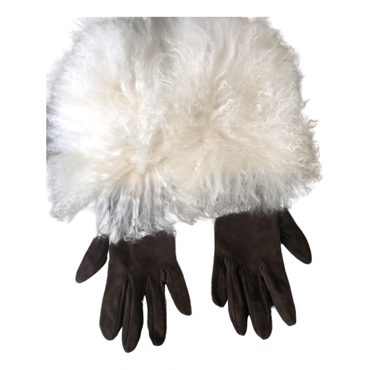Non Signe / Unsigned \N Handschuhe in  Bunt Mongolisches Lamm