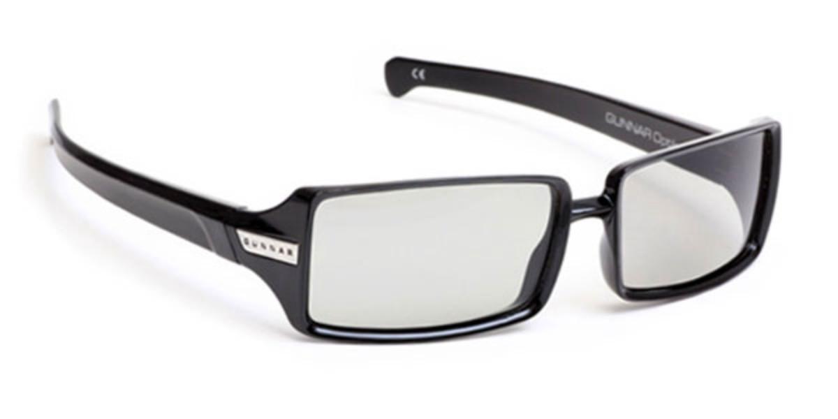 Gunnar Gliff 3D GLI-00106 Men's Glasses Black Size 57 - Free Lenses - HSA/FSA Insurance - Blue Light Block Available