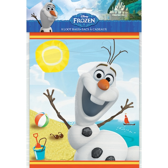 2 Pack of Olaf Favor Bags, 8Ct By Disney | Michaels®