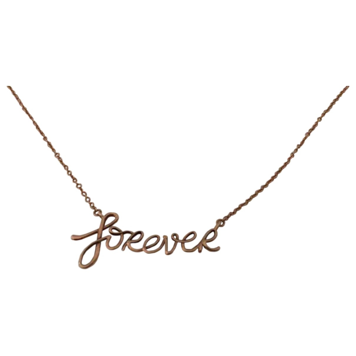 Tiffany & Co \N Gold Yellow gold necklace for Women \N