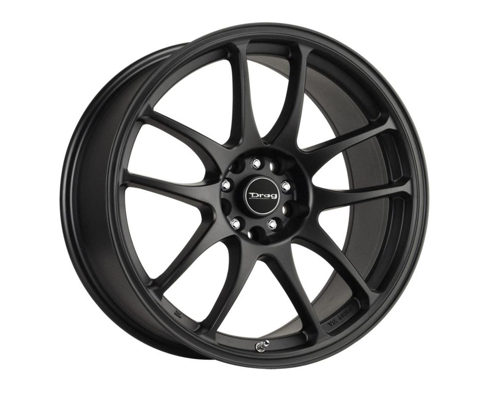 Drag DR-31 Flat Black Full Painted 16x7 4x100/114.3 40mm