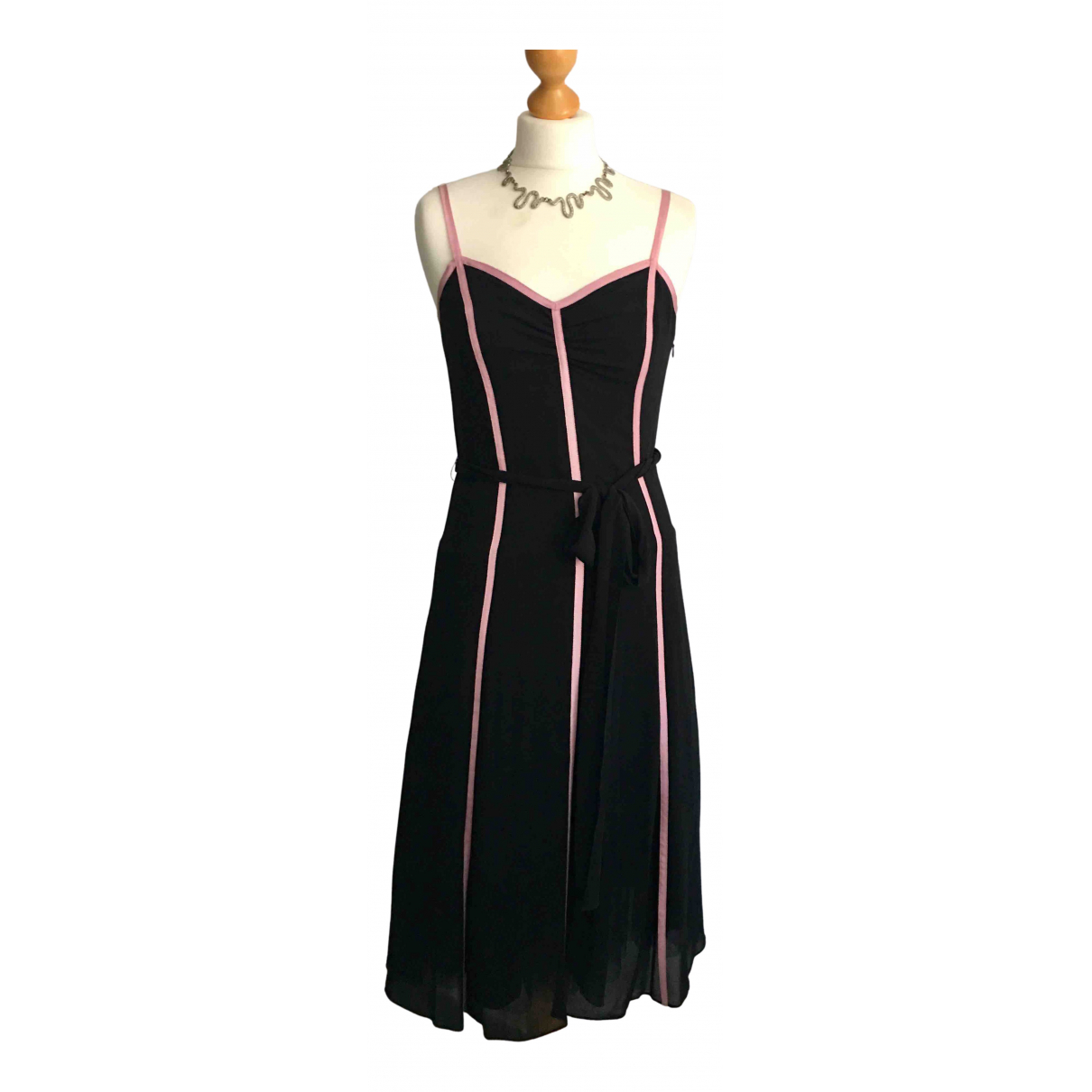 Lk Bennett - Robe   pour femme en soie - noir